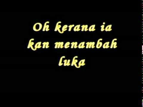 KRU - Jangan Lafazkan ( Lirik )