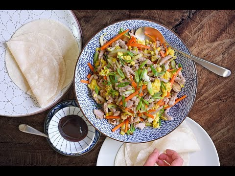 How to Make Paleo Moo Shu Pork (Whole30, Gluten-free) LIVE From My Kitchen! | Nom Nom Paleo