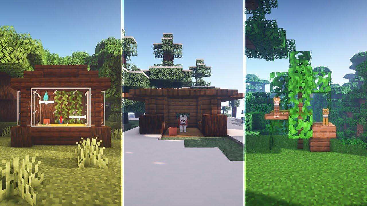 Minecraft: 10 Simple Pet House Designs