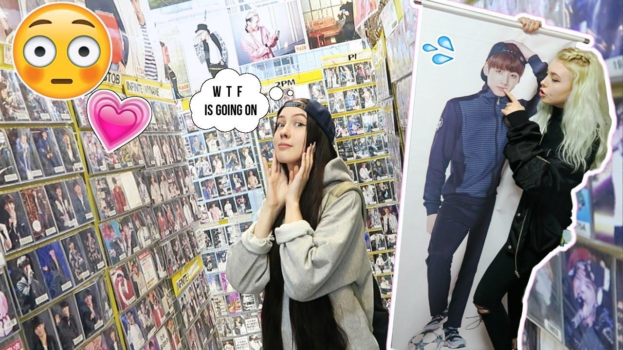 a girls wet dream korea town in japan youtube
