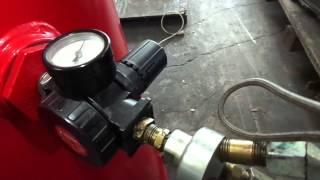 red husky 60 gal compressor