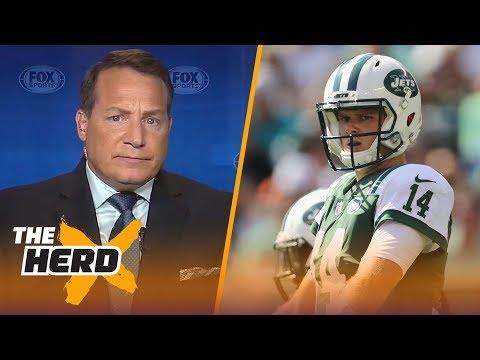 Eric Mangini talks Sam Darnold's rookie season, Patricia vs. Belichick   NFL   THE HERD