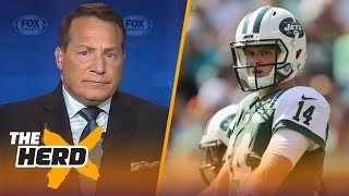 Eric Mangini talks Sam Darnold's rookie season, Patricia vs. Belichick | NFL | THE HERD
