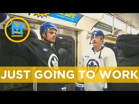 The Toronto Maple Leafs took the subway to their outdoor practice | Your Morning