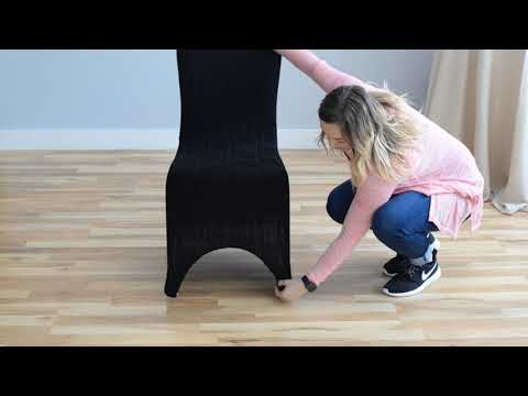 Fitting A Stretch Banquet Chair Cover
