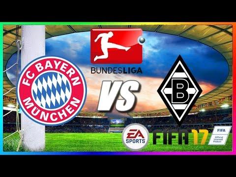 FC Bayern München vs Borussia Mönchengladbach | 22.10.2016 | 8.Spieltag | 1.Bundesliga | FIFA 17