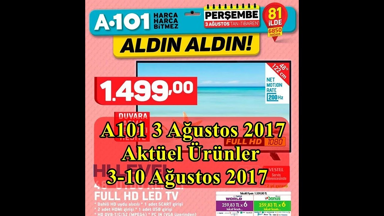 A101 3 Agustos Katalogu – 3