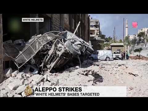 Syria's War air strikes Aleppo - (Must Watch)