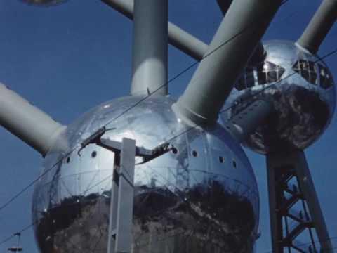 Hildreth Meiere's footage of Expo '58, Brussels, Belgium