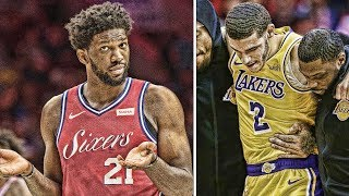 Lonzo Ball Injured! Russell Westbrook & Joel Embiid Beefing! Luka Doncic Gets Ejected!