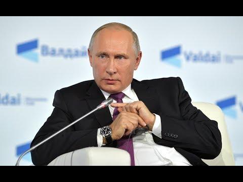 """Владимир Путин на заседании дискуссионного клуба """"Валдай"""". Полное видео"""