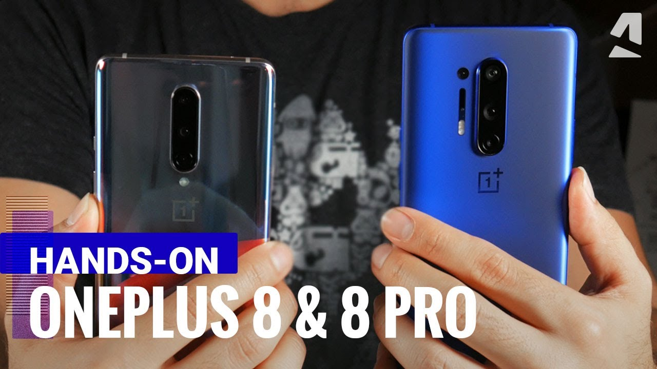 OnePlus 8 and OnePlus 8 Pro hands-on review