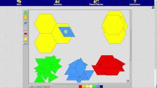 Use Pattern Blocks to Determine Fraction Values Given the Unit