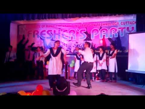 I.M.I.T College, Cuttack Fresher's Party 2017 video 3