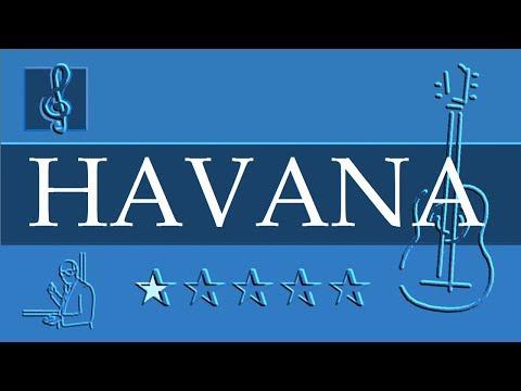 Acoustic Guitar TAB - Camila Cabello - Havana ft. Young Thug (Sheet music - Guitar chords)