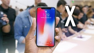 connectYoutube - iPhone X Impressions & Hands On!