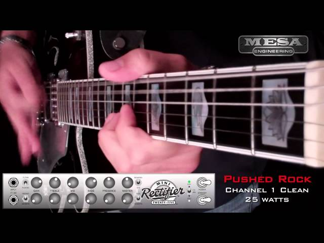 MESA/BOOGIE Mini Rectifier Ch. 1 PUSHED – Rock