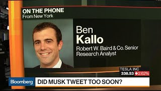 Tesla Bull Makes the Case for Company to Stay Public
