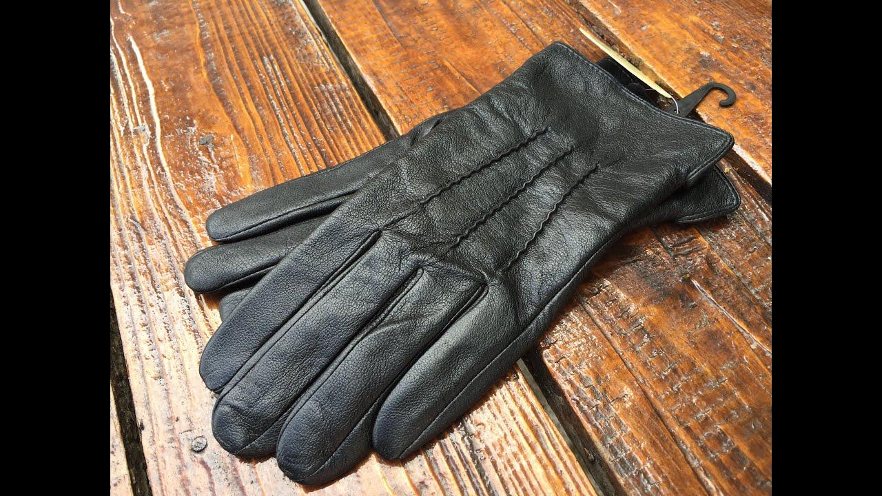 Женские кожаные перчатки Shust Gloves lyyn-088s - YouTube