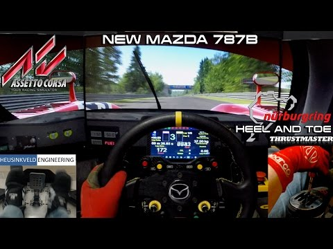 HEEL & TOE - New Mazda 787B @ Nordschleife
