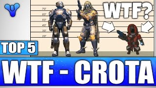 Crota's End WTF Moments - DWARF WARLOCK - Top 5 What The Flip Moments / Episode 421