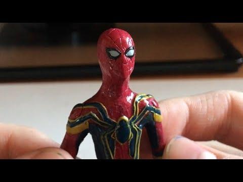 Железный паук из пластилина!!!