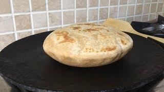 பிட்டா ரொட்டி செய்வது எப்படி | ஓவன் இல்லாமல் செய்வது எப்படி | Whole Wheat Pita Bread In Tamil
