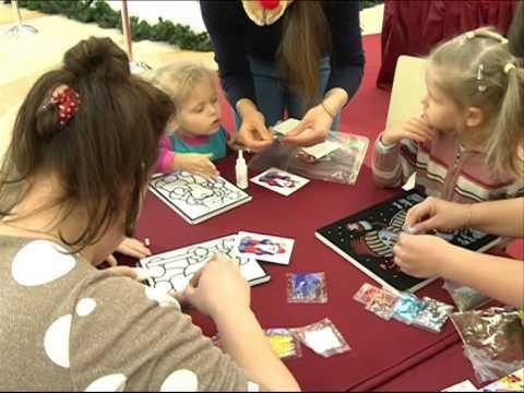 «Первый Ярославский» развлекал детей в торговом центре «Аура»