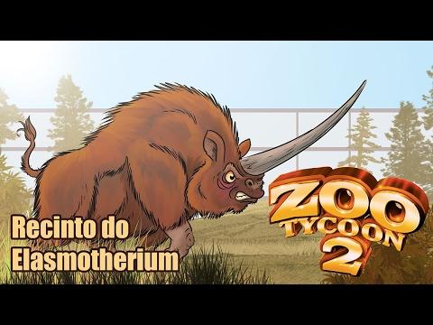 #Zoo Tycoon 2: Montando o recindo do Elasmotherium