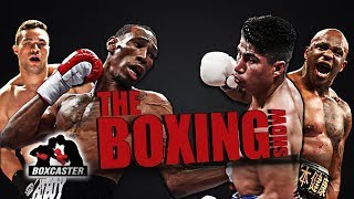 The Boxing Show: Garcia vs. Easter, Whyte vs. Parker, Demetrius Andrade, Frank Warren AND MORE!