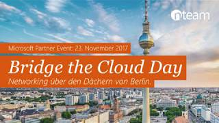 Bridge the Cloud Day 2017 - Rückblick