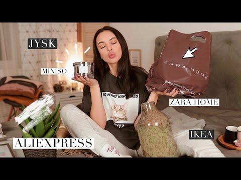 ПОКУПКИ для ДОМА 🧸 Aliexpress, Zara Home, Jysk, Ikea и др.