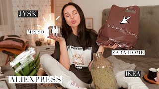 ПОКУПКИ для ДОМА 🧸 Aliexpress, Zara Home, Jysk, Ikea и др.