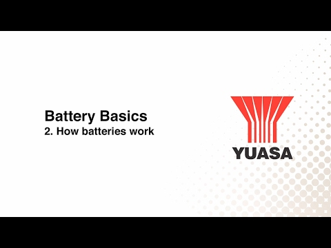 GS Yuasa - battery basics: 2. how batteries work