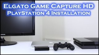 PlayStation 4 - Elgato Game Capture Installation (MacBook Pro)