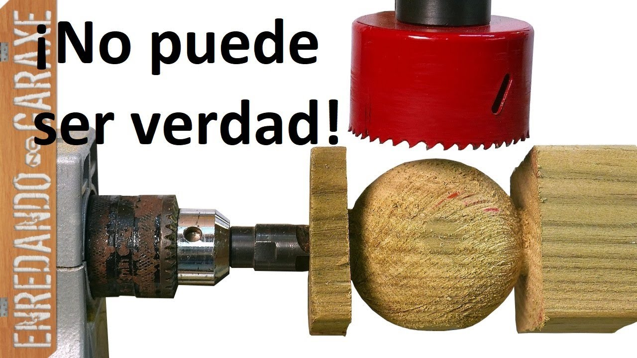C mo hacer bolas de madera f cil youtube - Bolas de madera para manualidades ...