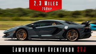 2019 Lamborghini Aventador SVJ   (Top Speed Test)