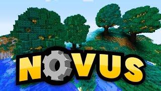 MEGA-Setzling gefunden!! - 10.000 Holz in 10 Minuten! - Minecraft NOVUS #36