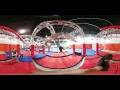 Ninja Warrior Challenge Course in 360