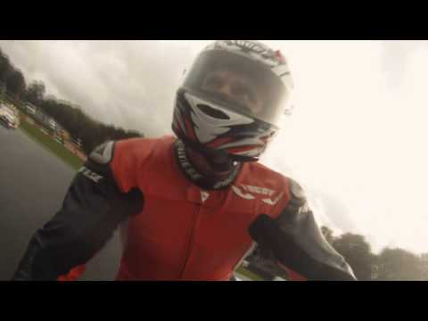 Carl Fogarty 899 Parade lap at Brands Hatch