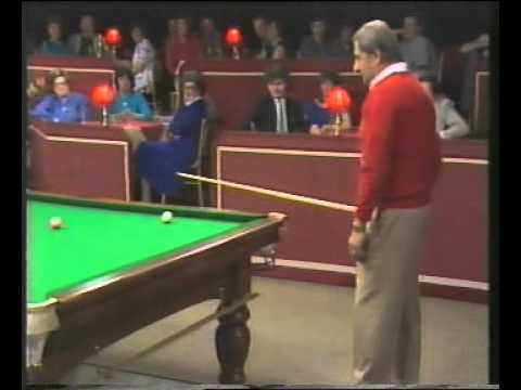 Snooker Funny - Steve Davis motivates Bernie Winters for an amazing pot ! streaming vf
