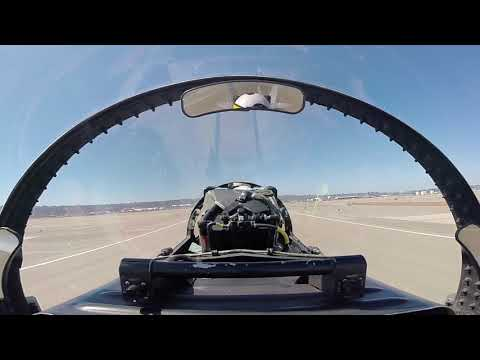 In-cockpit view of F/A-18 Landings in San Diego