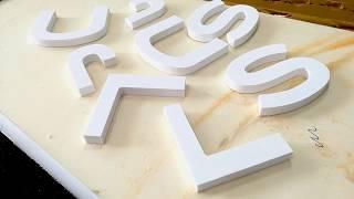 Scritte e loghi prespaziati in forex