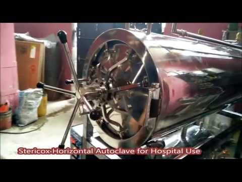 Hospital Horizontal Autoclave Demonstration Video