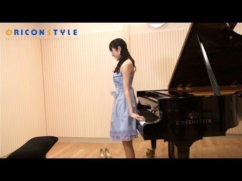 AKB松井咲子、ピアノ背面弾きを披露