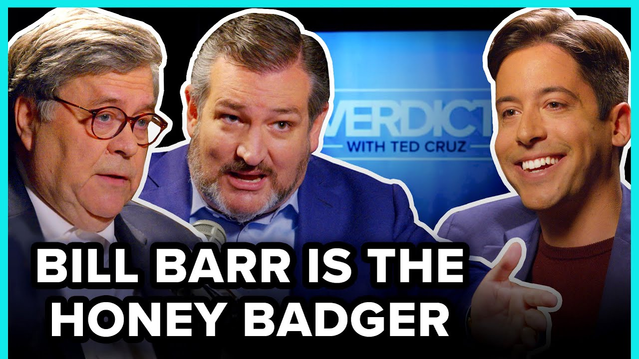 Bill Barr Is The Honey Badger