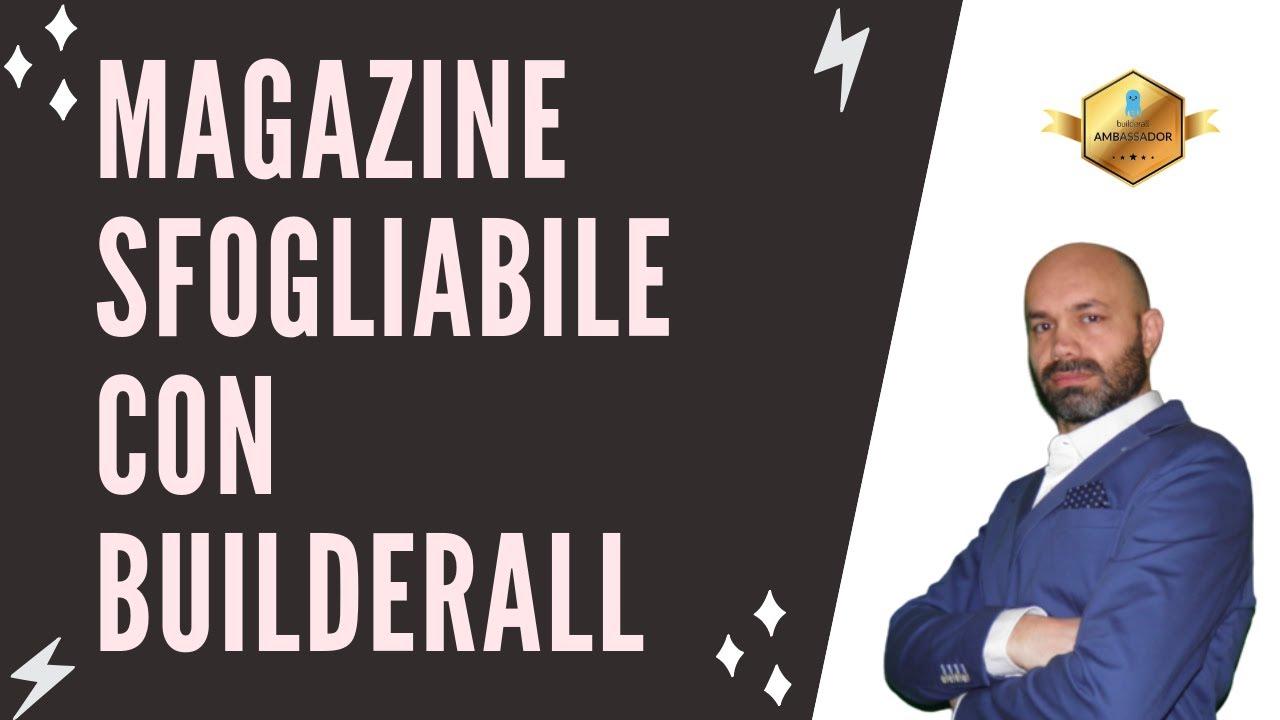 Creare un Magazine o rivista sfogliabile con Builderall
