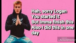 LOGANG SUCKS (LYRICS)-JAKE PAUL
