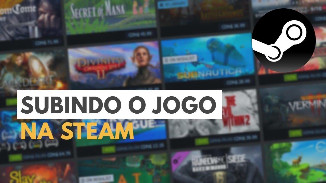 Subindo jogo na Steam || Integrando Steam com Unity