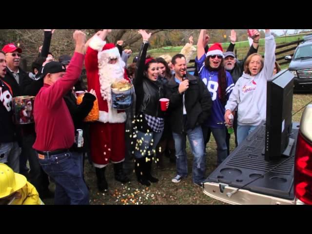 Santa's Having a Tailgate